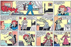 Penny (comic strip) - Image: Haenigsenpenny 12151