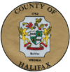 Official seal of Halifax County
