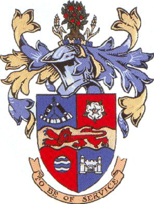 Borough of Harrogate - Image: Harrogate 1974 arms