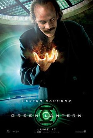 Hector Hammond - Character poster for Green Lantern featuring Peter Sarsgaard as Hector Hammond.