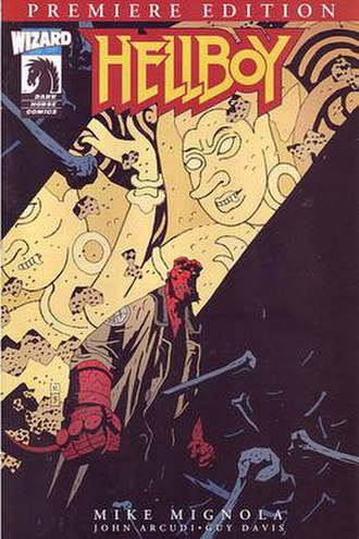 Hellboy: The Troll Witch and Others -  Cover by Mignola.