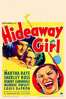 <i>Hideaway Girl</i> 1936 film by George Archainbaud
