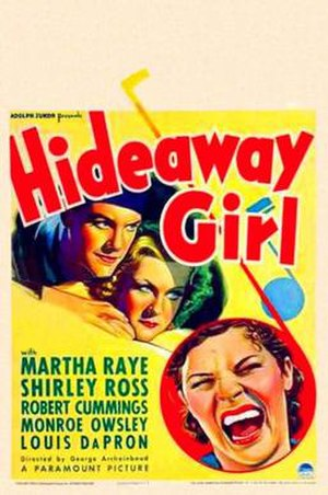 Hideaway Girl - Theatrical release poster