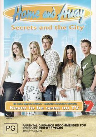 Home and Away: Secrets and the City - DVD Cover for Secrets and the City