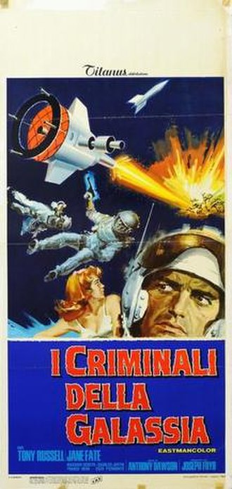 Wild, Wild Planet - Image: I criminali della galassia italian movie poster md
