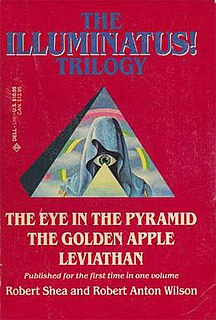 <i>The Illuminatus! Trilogy</i> Series of three novels by American writers Robert Shea and Robert Anton Wilson