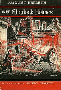 <i>In Re: Sherlock Holmes</i> book by August Derleth