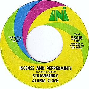 Incense and Peppermints (song) - Image: Incense and Peppermints single