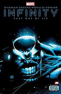 <i>Infinity</i> (comic book) 2013 Marvel Comics storyline