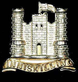 6th (Inniskilling) Dragoons - Badge of the Inniskilling Dragoons