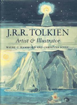 J. R. R. Tolkien: Artist and Illustrator - Cover of first edition, featuring Tolkien's painting of Taniquetil