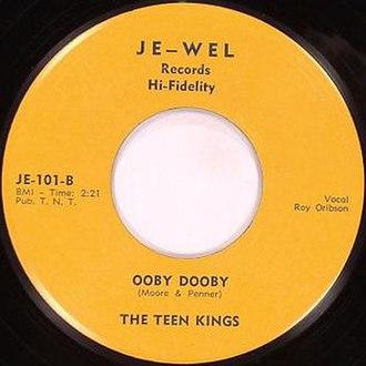 Je–Wel - Orbison's name is misspelled on this label