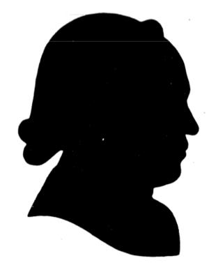 John Antes - Silhouette of John Antes