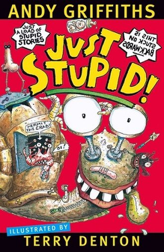 Just Stupid! - The cover of the United Kingdom book