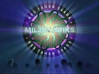 Kes tahab saada miljonäriks? - First version of Kes tahab saada miljonäriks? titles