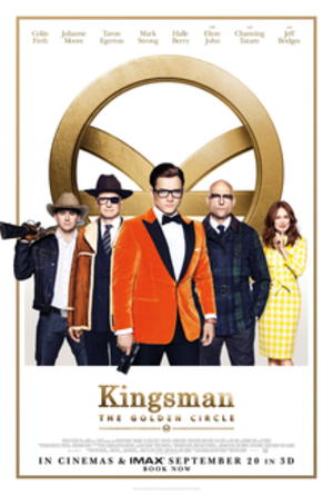 Kingsman: The Golden Circle - British theatrical release poster