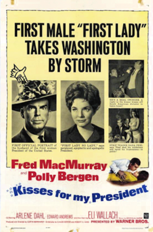 Kisses for My President - 1964 Theatrical Poster