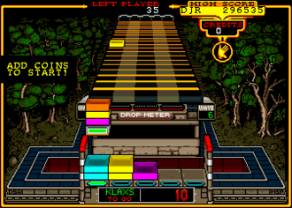Klax (video game) - Screenshot