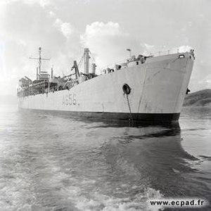 USS Agenor (ARL-3) - LST-490 Vulcain