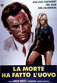 <i>Death Laid an Egg</i> 1968 film by Giulio Questi