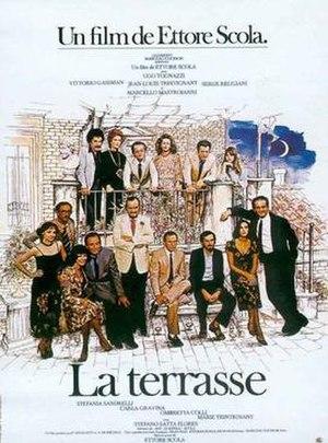 La terrazza - French film poster