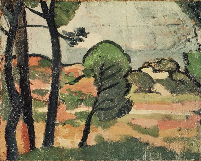 Landscape in Provence (Paysage de Provence) - André Derain