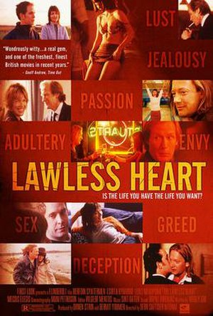 Lawless Heart - Theatrical release poster