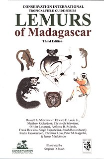 <i>Lemurs of Madagascar</i> (book) 2010 reference work and field guide