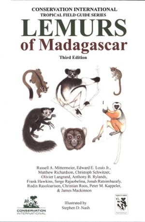 Lemurs of Madagascar (book) - Third edition cover