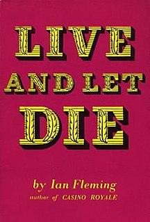 <i>Live and Let Die</i> (novel) Second James Bond novel by Ian Fleming