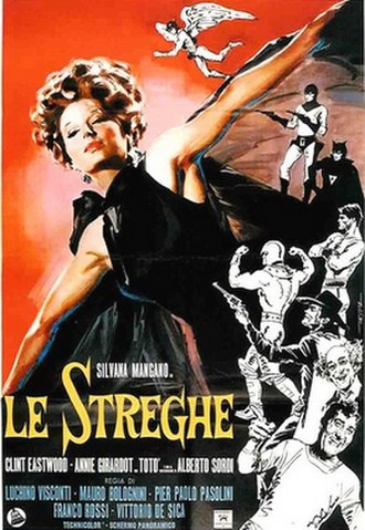 The Witches (1967 film) - Image: Locandina de le streghe 1967