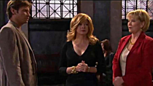 Lord family - Victor Lord's children (from left) Todd Manning (Roger Howarth), Tina Lord Roberts (Andrea Evans) and Victoria Lord (Erika Slezak) in a November 2011 episode