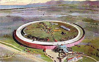 Los Angeles Motordrome - Image: Los angeles motordrome postcard