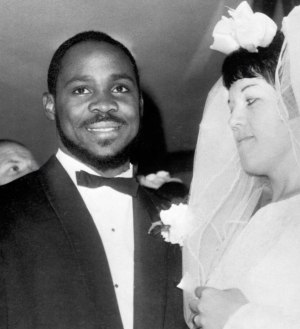 Louis Martin (weightlifter) - Martin getting married, 14 November 1964