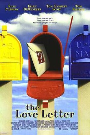 The Love Letter (1999 film) - Original theatrical release  poster