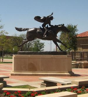 The Masked Rider - The Masked Rider sculpture