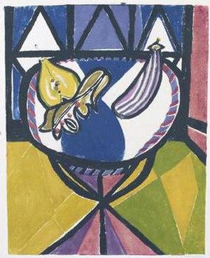 Robert MacBryde - Table with Fruit, 1948.