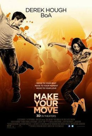 Make Your Move (film) - US theatrical release poster