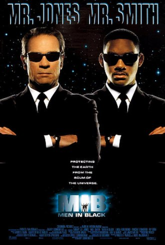 Men in Black (1997 film) - Theatrical release poster