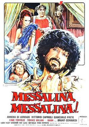 Messalina, Messalina! - Italian theatrical release poster by Enzo Sciotti