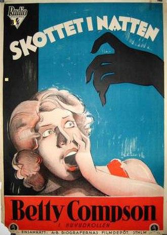 Midnight Mystery - Swedish film poster