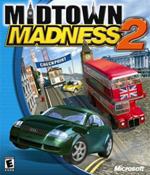 Midtown Madness 2 - Image: Midtown Madness 2 Coverart