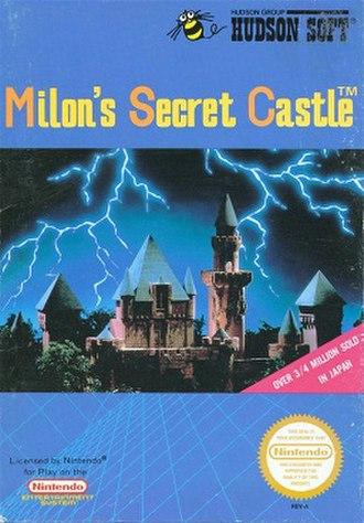 Milon's Secret Castle - Cover art