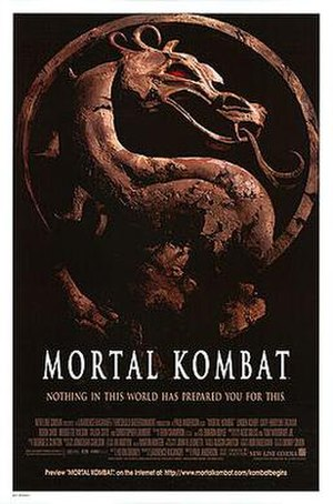 Mortal Kombat (film) - Theatrical release poster