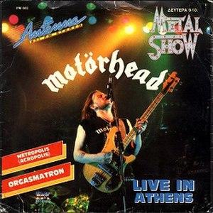 Nö Sleep at All - Image: Motörhead Acropolis (Metropolis) (1988)
