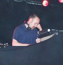Andy Carthy DJing at the Savoy, Cork City, on 30 May 2008