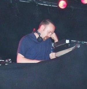 Mr. Scruff - Andy Carthy DJing at the Savoy, Cork City, on 30 May 2008