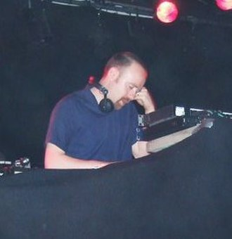 Mr. Scruff - Andy Carthy DJing at the Savoy, Cork City, on 30 May 2008
