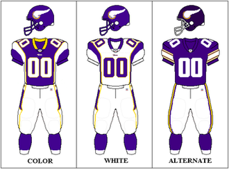 2009 Minnesota Vikings season - Image: NFCN Uniform MIN