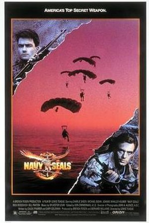 Navy SEALs (film) - Theatrical poster
